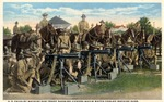 Fort Brown U.S. Cavalry machine gun troop showing Vickers-Maxim watch cooled machine guns by Robert Runyon