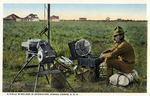 Fort Brown field wireless in operation, signal corps by Robert Runyon