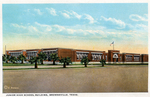 Brownsville Junior high school building (Clearwater Elementary) by Robert Runyon and Curt Teich & Co.