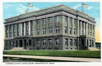 Cameron County court house building (Dancy building) by Robert Runyon and Curt Teich & Co.