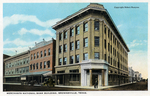 Merchants National Bank building by Robert Runyon and Curt Teich & Co.