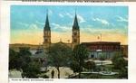 Plaza de Armas in Matamoros, Mexico by Robert Runyon and Curt Teich & Co.
