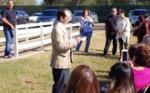 Recording of speakers - Marker Unveiling - Dr. John Moran Gonzalez