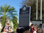 Recording of the unveiling of the historical marker