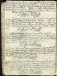 Camargo, Mex. baptismal church register, page 012a