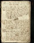 Camargo, Mex. baptismal church register, page 001b