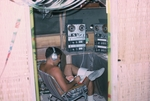 Recording tape to tape on borrowed 2nd recorder and tape from home. Classical music. by Cayetano E. Barrera