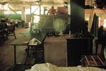 Cayetano Barrera's living area on bottom right. Brashear in background. by Cayetano E. Barrera
