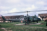 Chopper pad at Phuoc-Vinh by Cayetano E. Barrera