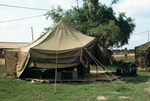 Home with sides up at Di-An 1st Infantry Division by Cayetano E. Barrera
