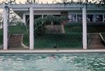 Cayetano Barrera swimming at Quan-Loi by Cayetano E. Barrera