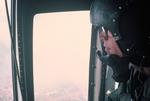 Helicopter crewman by Cayetano E. Barrera