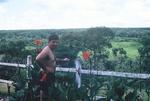 Cayetano Barerra at swimming pool at Quan-Loi by Cayetano E. Barrera