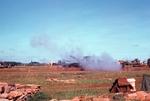 Artillery firing by Cayetano E. Barrera