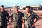 Major Rusinko, Col. Hannah and Cayetano Barerra by Cayetano E. Barrera
