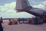 C-130 and Phantoms at Bien-Hoa. Going to Cam Rahn Bay to visit cousin Beto Saenz by Cayetano E. Barrera