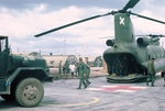 Chinook loaded and ready to take off by Cayetano E. Barrera