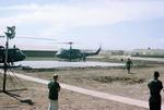 Casualties landing at Cu-Chi by Cayetano E. Barrera