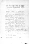 Declaration of El Gobernador del Estado de Tamaulipas no. 58 by Servando Canales and Manuel M. Canseco
