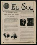 El Sol v.2 no.1, page 1 by Pan American University