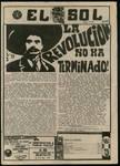 El Sol [v.3 no.6], page 1 by Pan American University
