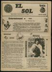 El Sol v.3 no.2, page 1 by Pan American University
