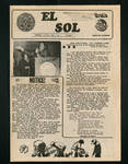 El Sol v.3 no.1, page 1 by Pan American University