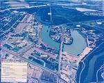 Fort Brown aerial showing ownership boundaries