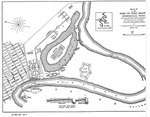 Map of the post of Fort Brown, Brownsville, Texas by Lewis Muhlenberg Haupt