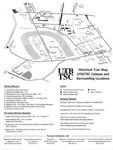 Historical tour map UTB/TSC campus and surrounding locations by University of Texas at Brownsville