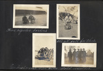 Page 19, Soldiers with dogs, Soldier washing clothes, Soldier resting on a mountain gun, Soldiers in greatcoats