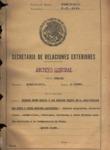 Archivo Historico De La Secretaria De Relaciones Exteriores L_E_1059