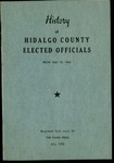 History of Hidalgo County elected officials from 1852 to 1963 by Shannon Pensa