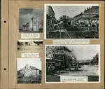 Page 08, Our Lady of Visitation church in Santa Maria, Spanish buildings in Santa Maria, Downtown Brownsville by John R. Peavey