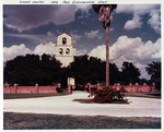Photograph of Shary Chapel during President Eisenhower visit