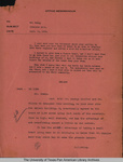 Grangeno site memo by John Harry Shary and H. H. Ewing