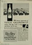 Rio Rey Texas Grapefruit Juice advertisement