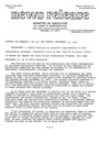 Agriculture News Release - 1979-09-10