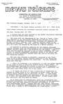 Agriculture News Release - 1980-06-24