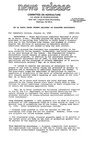 Agriculture News Release - 1990-01-12