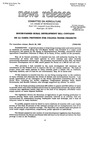 Agriculture News Release - 1990-03-22