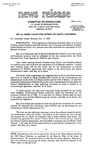 Agriculture News Release - 1993-01-11