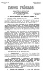 Agriculture News Release - 1988-09-28