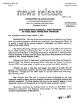 Agriculture News Release - 1993-03-05a