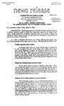 Agriculture News Release - 1993-03-05b
