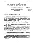 Agriculture News Release - 1993-03-10a