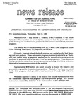 Agriculture News Release - 1993-02-17a