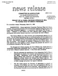 Agriculture News Release - 1993-03-31