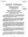 Agriculture News Release - 1993-02-17b