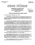 Agriculture News Release - 1993-06-03